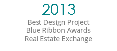 2013 Best Design Project Blue Ribbon Awards Real Estate Exchange